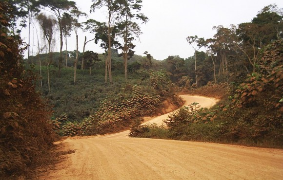 Brazzaville to Pointe-Noire highway
